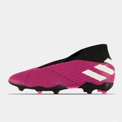 adidas Nemezis 19.3 FG, crampons de football sans lacets pour enfants
