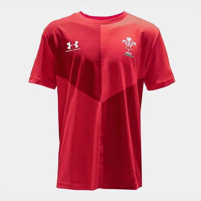 Under Armour T-shirt Graphique, Pays de Galles, Pour enfants