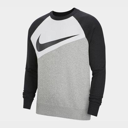 Haut Nike Swoosh CrewSn94 en gris
