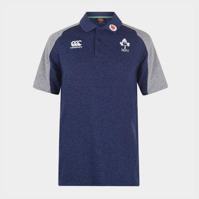 Canterbury Ireland Pique Polo Shirt Mens