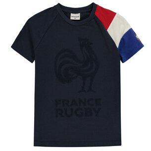 Le Coq Sportif T-shirt France manches courtes pour enfants