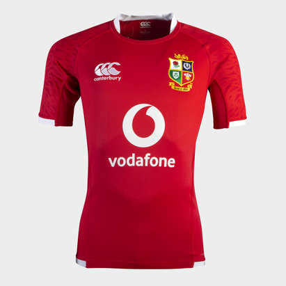 Canterbury British and Irish Lions Pro Shirt Tango Red