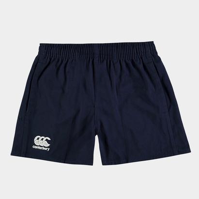 Canterbury Short de Rugby Professionnel Coton Enfants