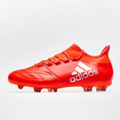 adidas X 16.2 FG/AG Cuir - Crampons de Foot