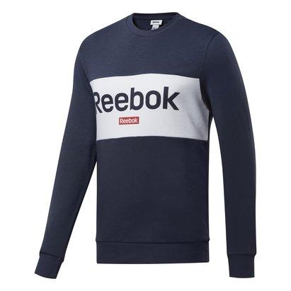 Reebok Sweatshirt pour hommes avec Grand Logo