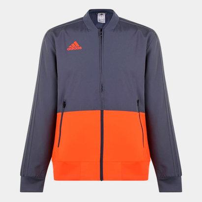 adidas Veste Pre Match Orange pour homme
