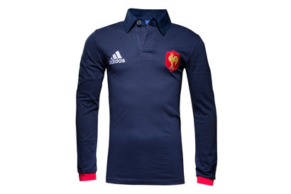 adidas France 2016/17 - Maillot de Rugby Supporters ML