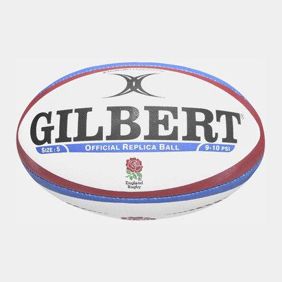 Gilbert Angleterre - Ballon de Rugby Réplique Officiel