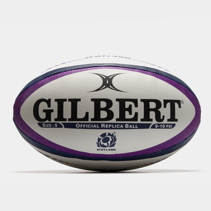 Gilbert Ecosse - Ballon de Rugby Réplique Officiel