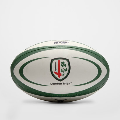Gilbert London Irish - Ballon de Rugby Réplique Officiel