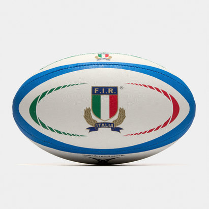 Gilbert Italie - Ballon de Rugby Réplique Officiel