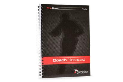 Precision Training Carnet Pro Coach de Rugby à 15 Format A5
