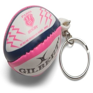 Gilbert Stade Français - Porte Clefs Mini Ballon de Rugby