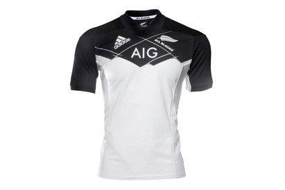 adidas Nlle Zélande All Blacks 2017/18 - Maillot de Rugby Alterné