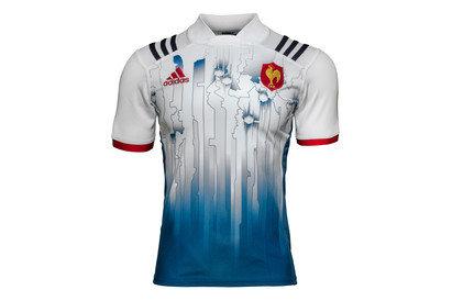 adidas France 7s 2016/17 - Maillot de Rugby à Domicile