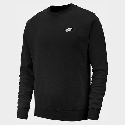Nike Fund Fleece Crew, Sweatshirt noir pour homme