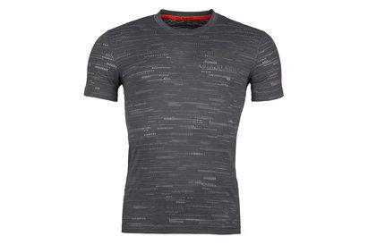 adidas All Blacks Nlle Zélande 2017/18 - Tshirt de Rugby Performance Hors Terrain