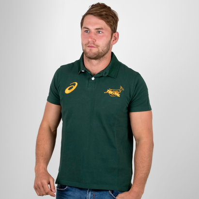 Asics Afrique du Sud Springboks 2017/18 - Polo de Rugby Supporters