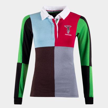 Maillot de Rugby Retro pour femmes, Harlequins