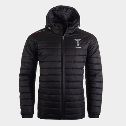 Harlequins Mens Quilted Jacket