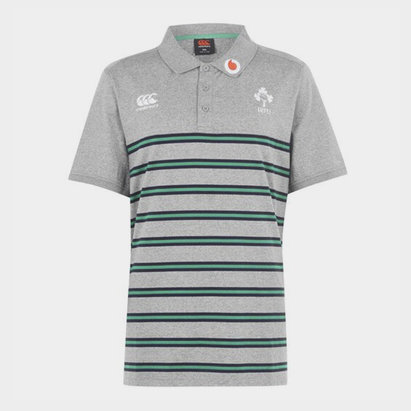 Canterbury Ireland Cotton Polo Shirt Mens