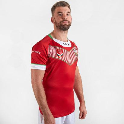 VX3 Maillot de Rugby, Pays de Galles Rugby League 2019/20 domicile