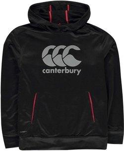 Canterbury Vapour Sweat à capuche noir d'entraînement