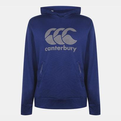 Canterbury Vapour Sweat à capuche bleu d'entraînement