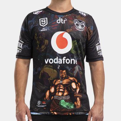 Canterbury Maillot Neuf Warriors de Nouvelle Zélande NRL 2020