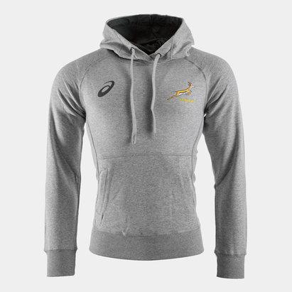 Asics Springboks d'Afrique du sud Sweatshirt de rugby Graphic à capuche