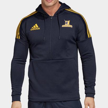 adidas Sweat de rugby à capuche, highlanders 2020