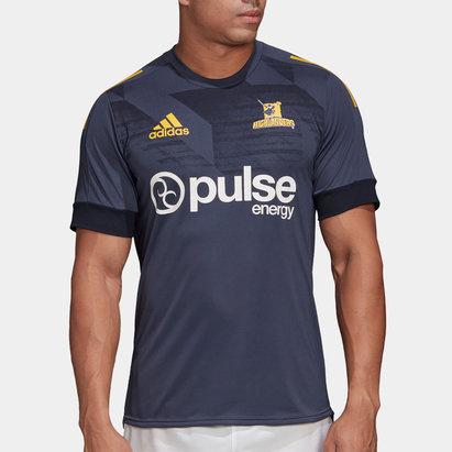 adidas T-shirt d'entraînement de rugby, Highlanders 2020