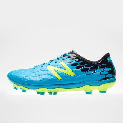 New Balance Visaro Pro FG, Crampons bleus de Football