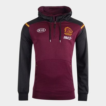 ISC Sweat à capuche de Rugby, Brisbane Broncos NRL 2020