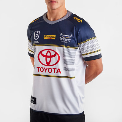 ISC Maillot de Rugby domicile, North Queensland Cowboys NRL 2020