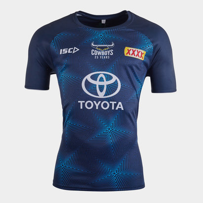 ISC T-shirt d'entraînement de Rugby, North Queensland Cowboys NRL 2020