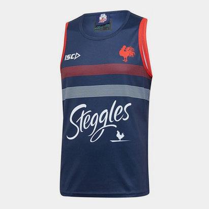 ISC Débardeur d'entraînement de Rugby, Sydney roosters NRL 2020