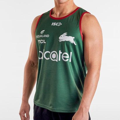 ISC Débardeur d'entraînement Joueurs de Rugby, South Sydney Rabbitoh NRL 2020