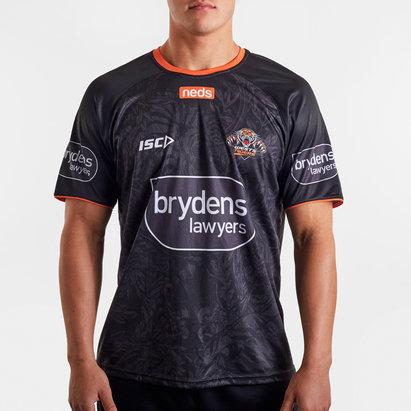 ISC T-shirt d'entraînement, West Tigers NRL 2020
