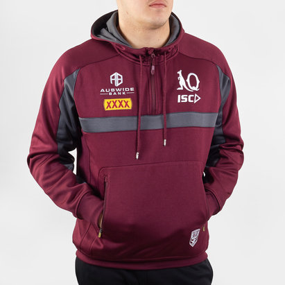 ISC Sweat de rugby à capuche, Queensland Maroons NRL 2020