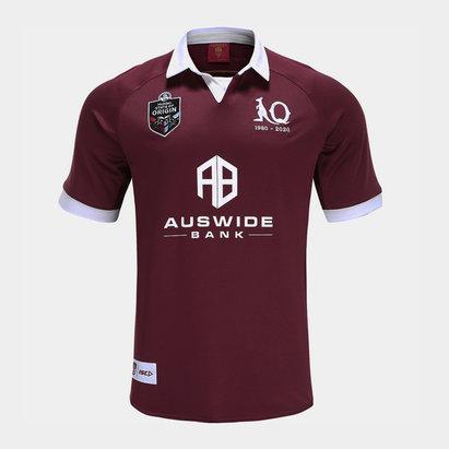 ISC Maillot de Rugby Queensland Maroons Domicile, NRL 2020, Pour enfants