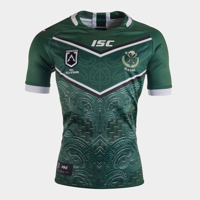 ISC Maillot de Rugby, Nouvelle Zélande Maori All Stars 2020