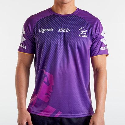 ISC T-shirt d'entraînement de Rugby Joueurs, Melbourne Storm NRL 2020