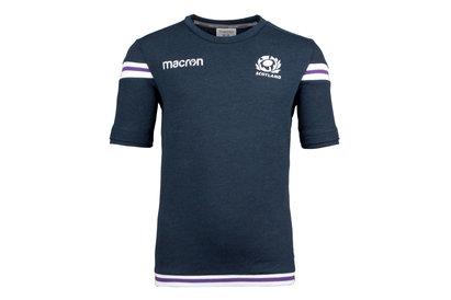 Macron Ecosse 2017/18 - Tshirt de Rugby Polycoton Enfants