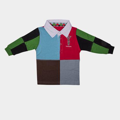 Harlequins Infant Quartered Rugby Shirt
