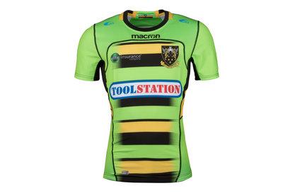 Macron Northampton Saints 2017/18 - Maillot de Rugby Test Alterné