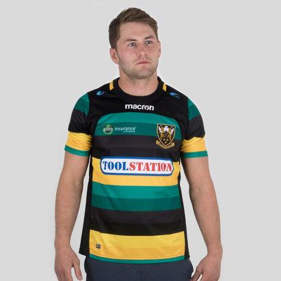 Macron Northampton Saints 2017/18 - Maillot de Rugby Réplique Domicile