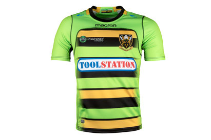 Macron Northampton Saints 2017/18 - Maillot de Rugby Réplique Alterné Enfants