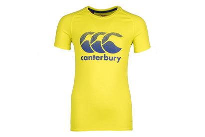 Canterbury Vapodri Poly Adolescents - Tshirt Entraînement Grand Logo