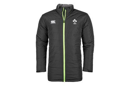 Canterbury Irlande IRFU 2017/18 - Veste de Rugby Matelassée Zippée Joueurs